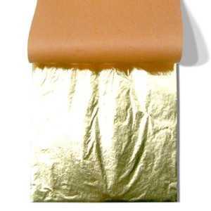 Oro imitación transfer librito de 25 hojas