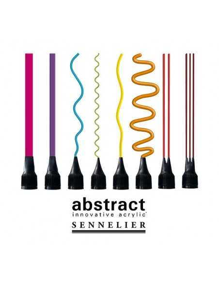 Set de 8 Boquillas para Acrilico Abstract