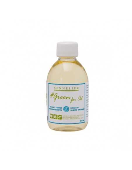 Diluyente Ecologico para Oleo Green For Oil Sennelier 250ml.