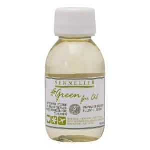 Limpiador para Oleo Sennelier Green For Oil 100ml.