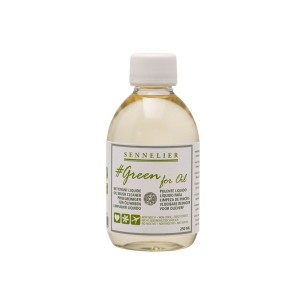 Limpiador para Oleo Sennelier Green For Oil 250ml.