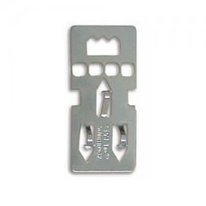Colgador metalico para Carton Pluma 38mm.