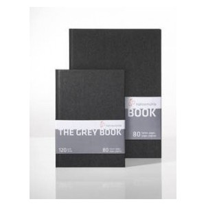Libro Hahnemuhle Gris The Grey Book A5 120gr.