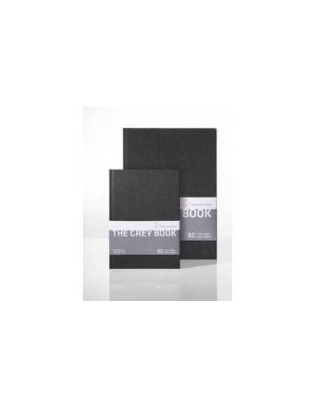 Libro Hahnemuhle Gris The Grey Book 40H. A4 120gr.