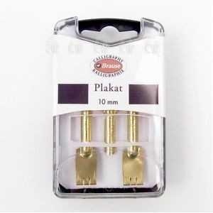 Cajita 3 Plumilla Brause PLAKAT 10mm