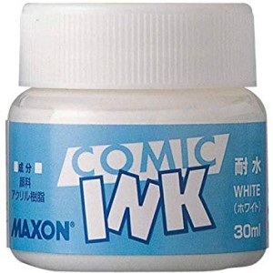 Tinta para Comic Resistente al Agua Maxon Blanca 30ml