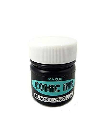 Tinta para Comic Maxon Negra 30ml