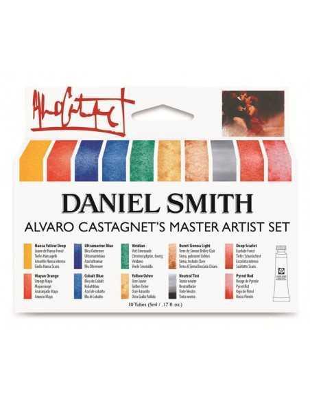Set acuarela Alvaro Castagnet Daniel Smith. 10 Tubos