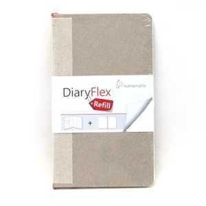 Recambio Hojas para DiaryFlex 10,5x18 100Gr. Blanca Liso