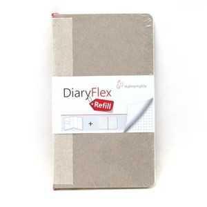 Recambio Hojas para DiaryFlex 10,5x18 100Gr. Punteado