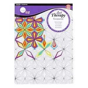 Libro Mandala 25 hojas Daler Rowney Geometric