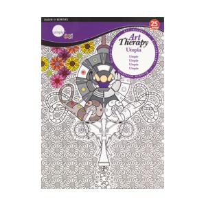 Libro para colorear Utopia 25 hojas Daler Rowney