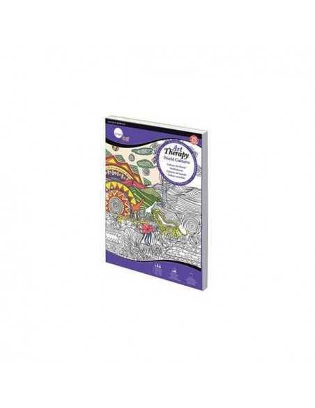 Libro Para colorear World Cultures Daller Rowney