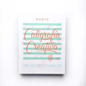 Libro Caligrafía Creativa Rubio