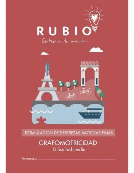 Cuaderno Rubio Estimulacion Destreza Motora Grafomotricidad Media