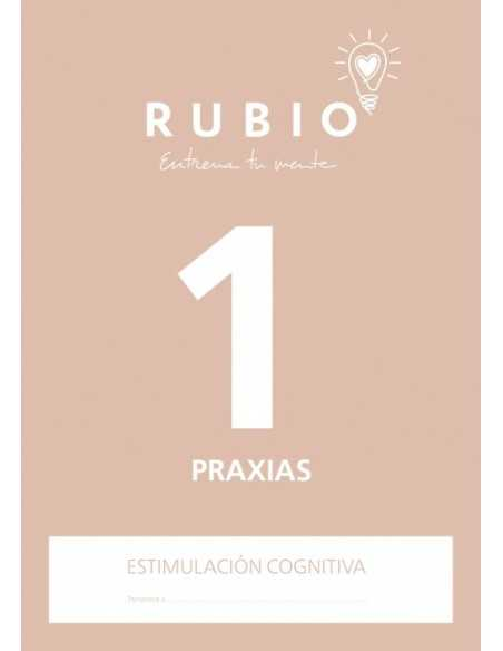Cuaderno Rubio Entrena tu Mente Praxias 1