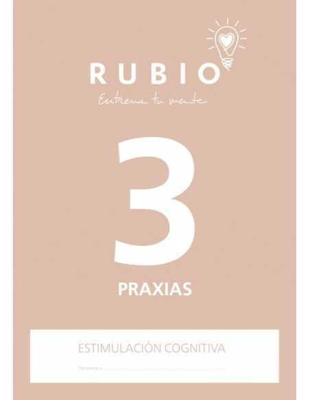 Cuaderno Rubio Entrena tu Mente Praxias 3