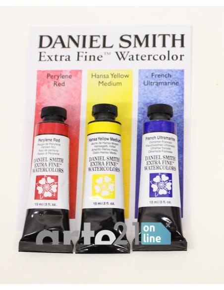 Set 3 Tubos 15ml. Acuarela Daniel Smith Colores Primarios