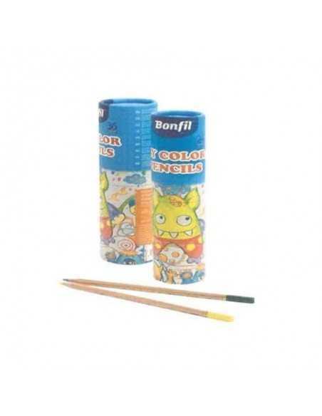 Set 24 Colores My Color Pencil Redondos