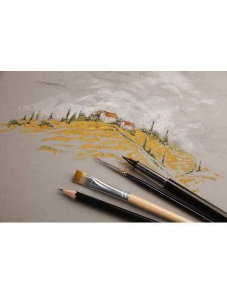Bloc Cosido PaintOn 250gr 64 paginas A5 Blanco con Goma
