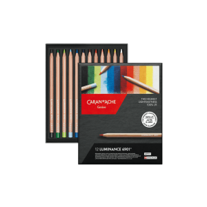 12 Lápices LUMINANCE 6901 Caran D'Ache
