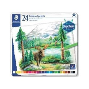 Caja 12 Lapices de Colores Staedtler Desing Journey