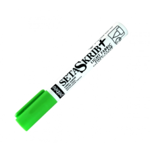 Rotulador Textil Setaskrib Pebeo para Tejidos Claros Punta de Pincel - Verde Fluor