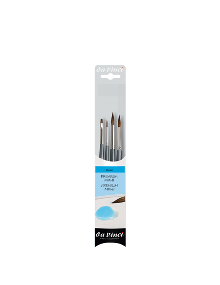 Set de Pinceles Dentales Da Vinci Premium Mix B 5upcs.