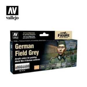 Sets Model Color Vallejo. Colores Uniforme alemán IIWW . 8 colores