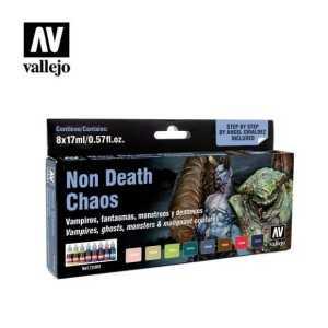 Sets Game Color Vallejo. Nonm Death Chaos. 8 colores