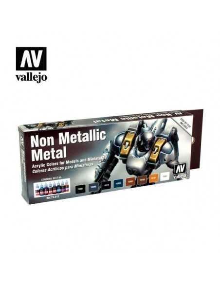 Sets Game Color Vallejo. Metal no Metal. 8 colores
