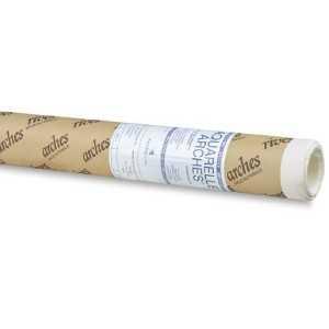 Rollo Papel Arches Aquarelle 100% Algodón 356gm . 1,30x 9,15cm Grano Fino