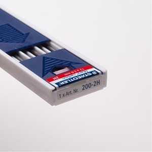 Caja 12 Minas con afilaminas 2mm. Satedler Mars Carbon 4B