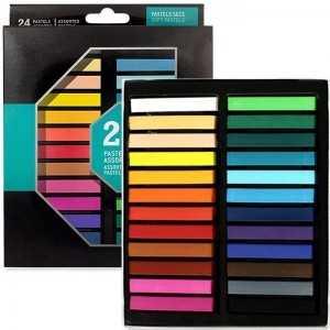 Set de Pastel Seco CAMPUS 24 Colores
