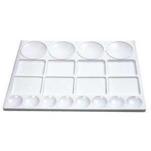 Paleta Plastico Rectangular 10 Pocillos Revees