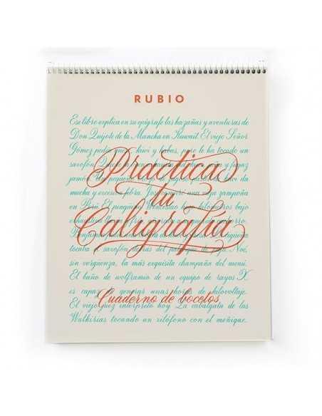 Cuaderno Rubio para Practicar Caligrafia 80 paginas de 135gr.