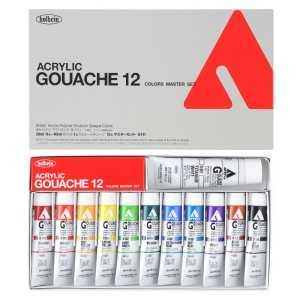 HOLBEIN ACRYLA GOUACHE Master Set of 11 Plus 1 40ml White