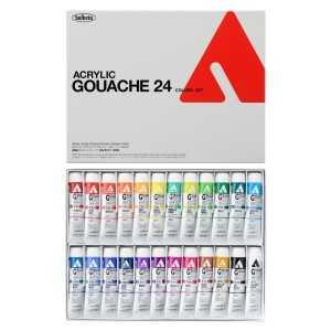 HOLBEIN ACRYLA GOUACHE Set of 24 colors