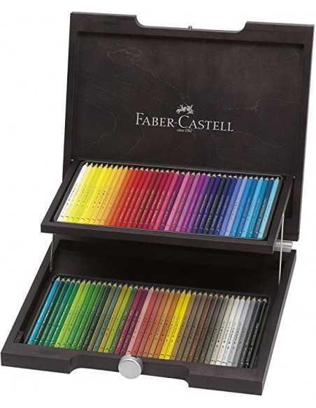Caja De Madera de 72 lápices FABER CASTELL Polychromos
