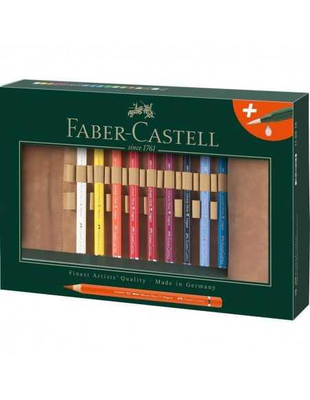 Estuche Enrrollable Lapices Acuarelables Faber Castell Albert Durer 18 colores Magnus