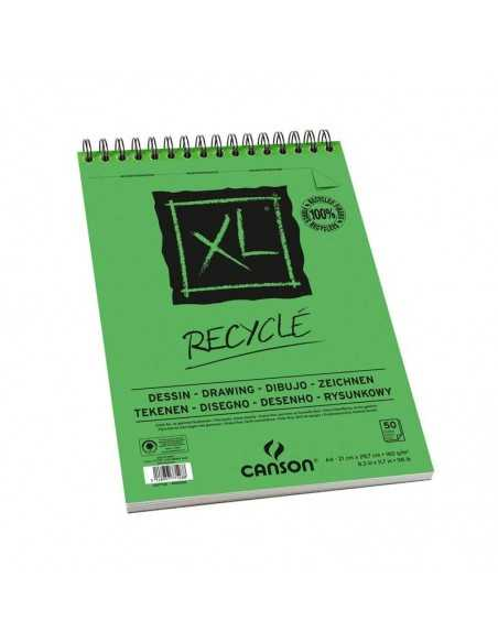 Album Espiral Microperforado 29,7x42cm. 50H Canson XL Recycled Fino 160G