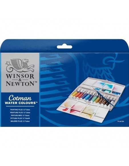 Caja Set 12 tubos Acuarela Cotman Winsor&Newton
