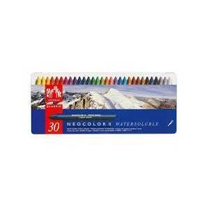 Caja Surtida 30 Colores Pasteles Acuarelables Neocolor II Caran d Ache
