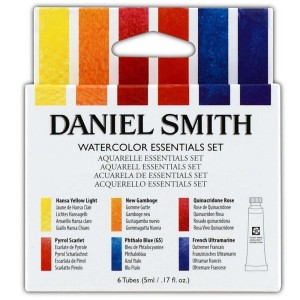 Set acuarela Essentials Daniel Smith. 6 Tubos