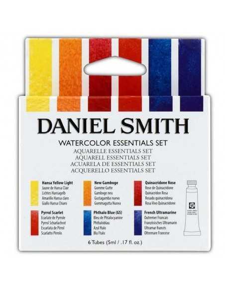 Set acuarela Essentials Daniel Smith. 6 Tubos