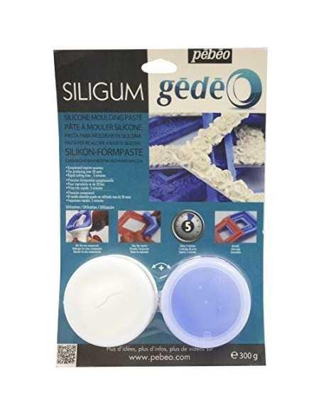 Pasta para Moldear en Silicona Siligum - Gédéo 300gr.