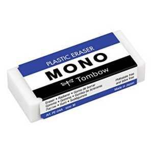 Goma de borrar plástica 19g.Mono .Tombow