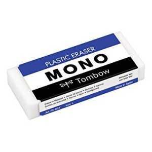 Goma de borrar plástica 38g.Mono .Tombow