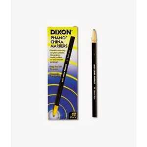 DIXON Phano China Marker. Negro