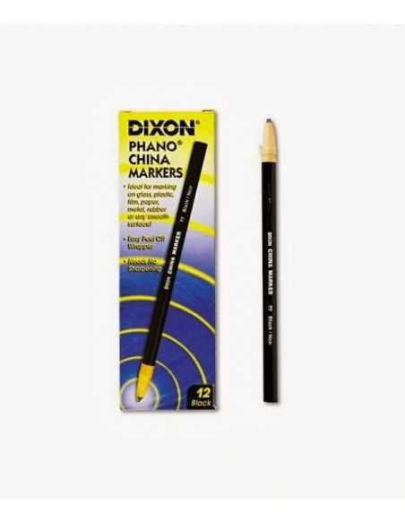 Dixon China Marker Negro